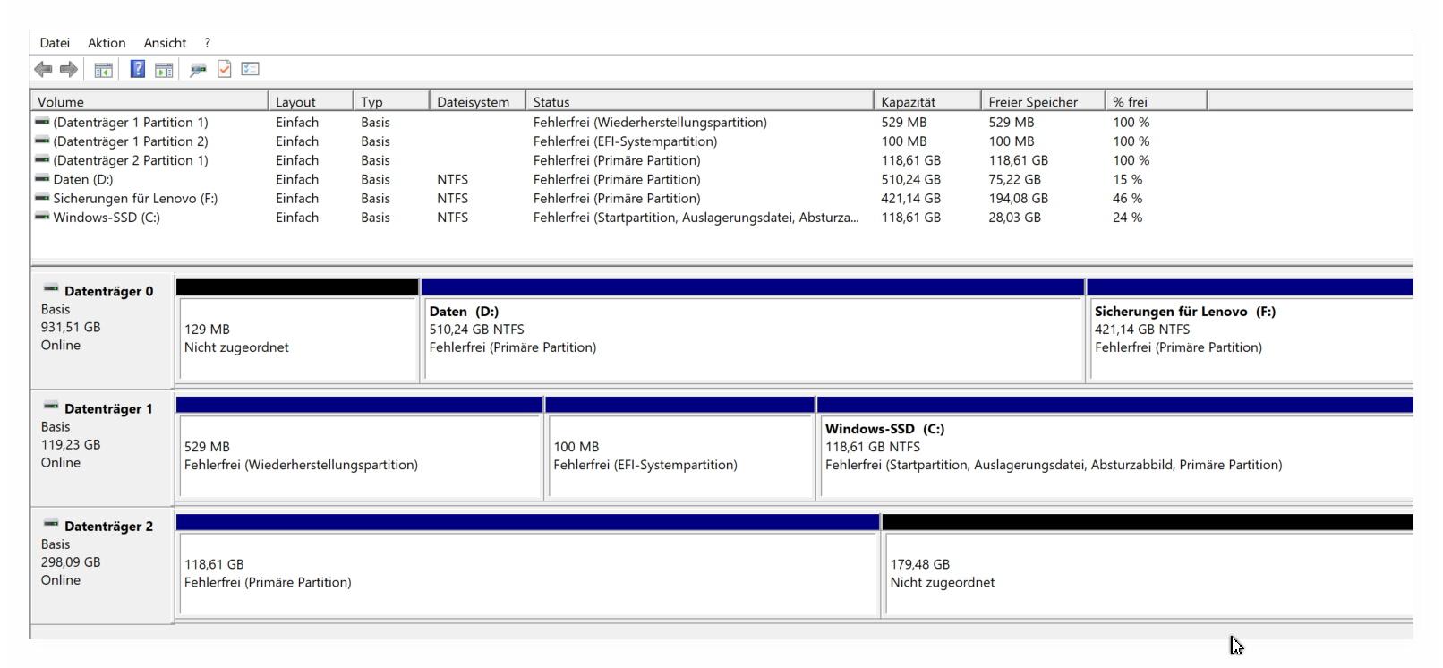 Datenträgerverwaltung1